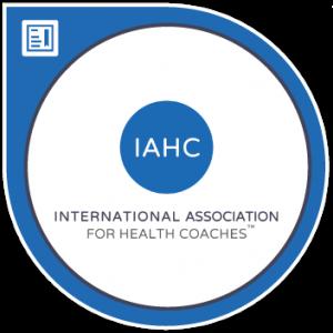 IAHC Credential new 300x300 - Certified International Health Coach (CIHC)